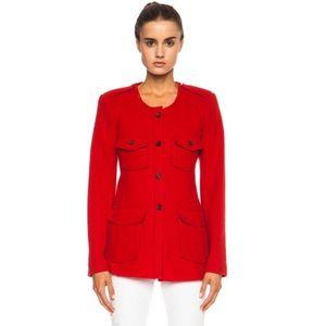 Isabel Marant Etoile Joff Wool Blend Jacket